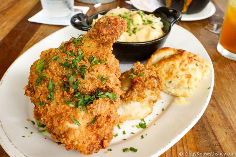 Fried Chicken at Homecomin Disney Springs at Disney World