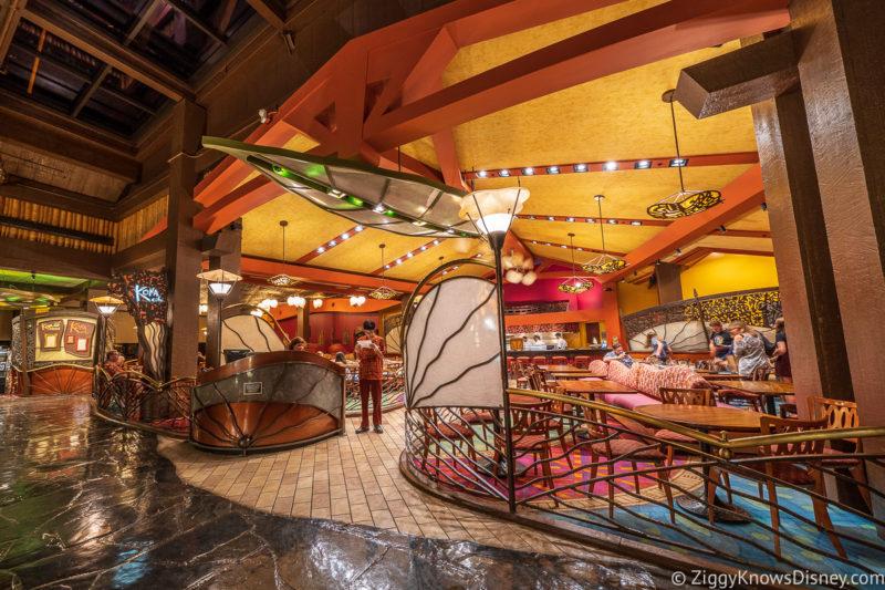 Kona Cafe Restaurants at Disney World