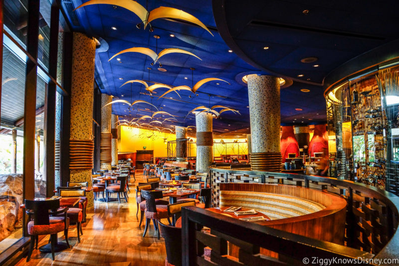 Jiko The Cooking Place dining Room Disney World