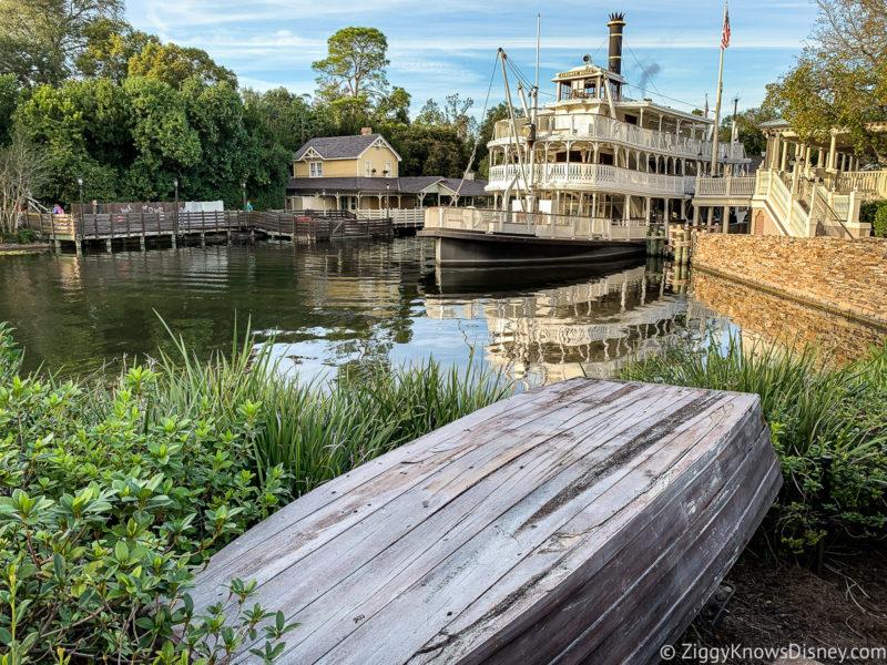 Liberty Square Riverboat Disney World