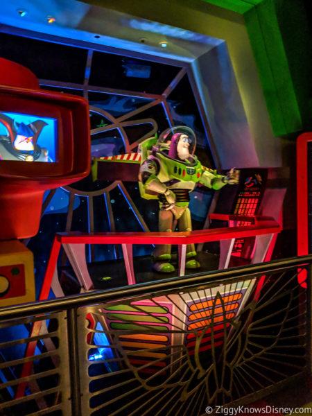 Buzz Lightyear's Space Ranger Spin Buzz Animatronic