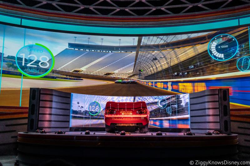 Lightning McQueen's Racing Academy Best Disney World Attractions