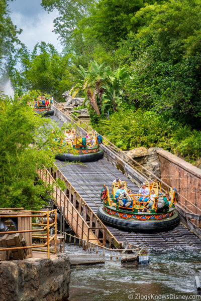 Kali River Rapids Disney World Ride