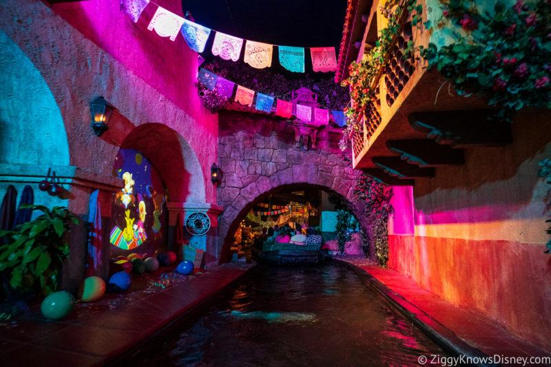 Gran Fiesta Tour Starring The Three Caballeros boat ride