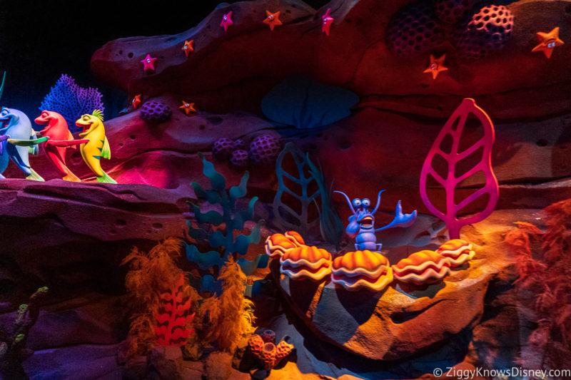 Under the Sea Journey of The Little Mermaid Disney World Fantasyland