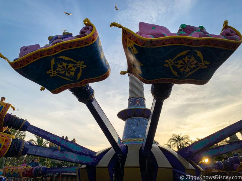 The Magic Carpets of Aladdin Adventureland Disney World