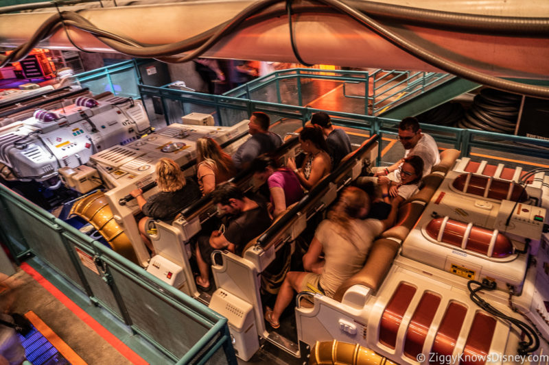 DINOSAUR loading area Disney World