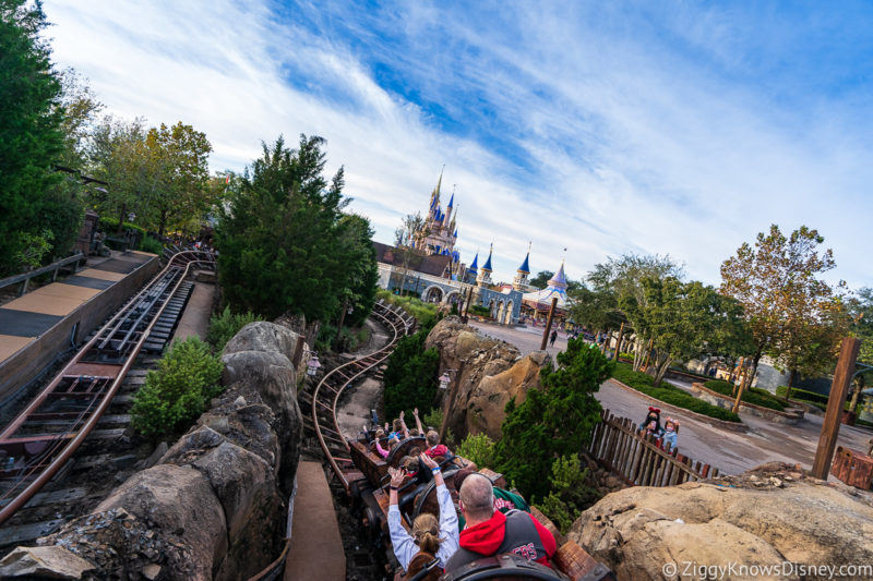 Seven Dwarfs Mine Train Disney World