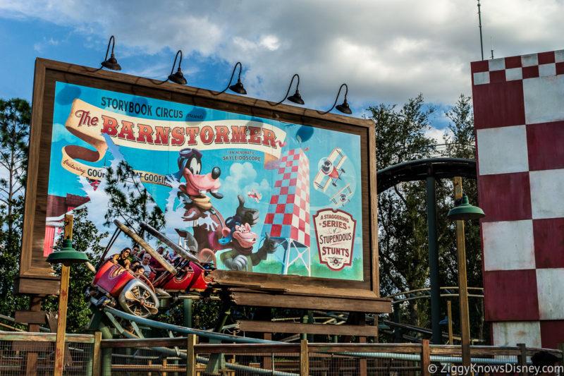 The Barnstormer Disney World Magic Kingdom