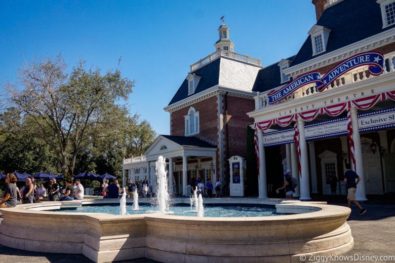The American Adventure Disney World