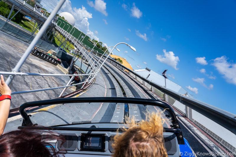 High-speed loo on Test Track Disney World