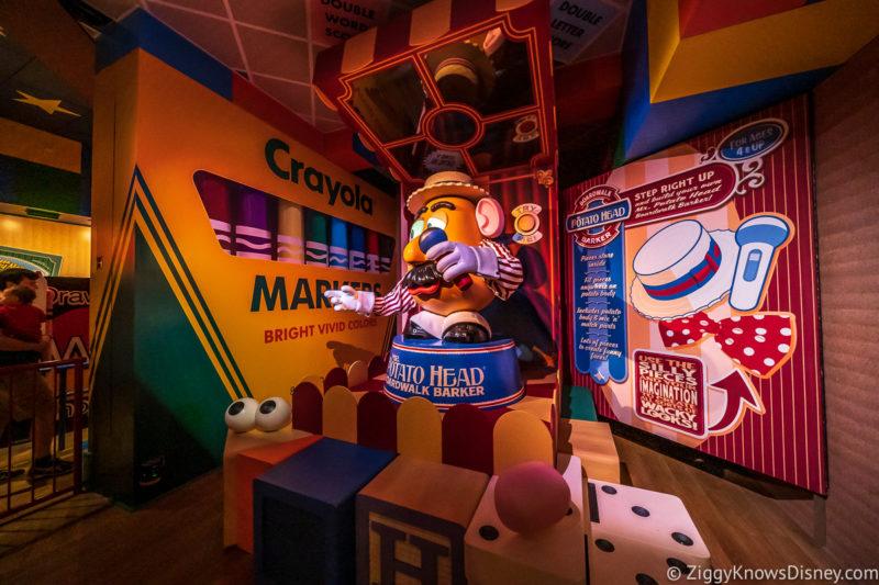 Mr. Potato Head Animatronic Toy Story Mania!