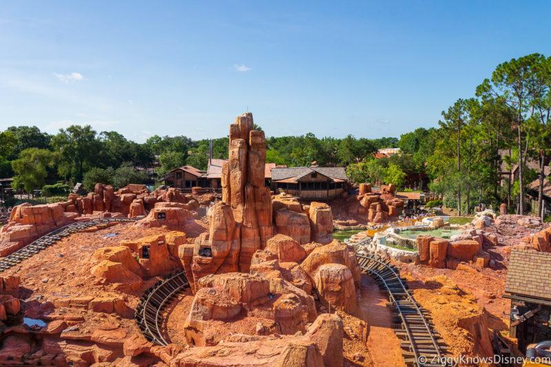 Big Thunder Mountain Railroad Disney World Rides