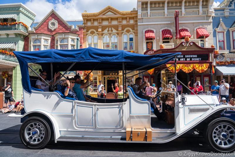 Main Street Vehicles Magic Kingdom Disney World