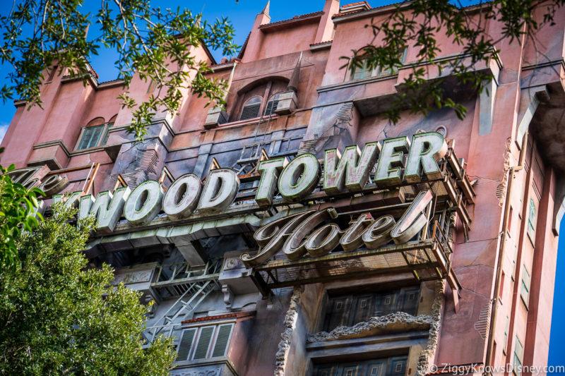 The Twilight Zone Tower of Terror Disney World Rides