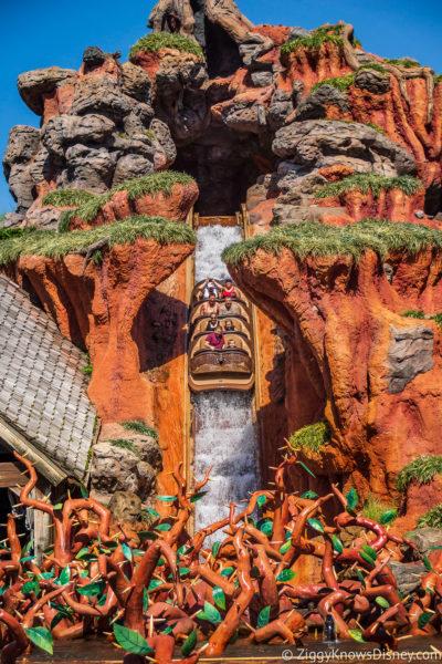 Top Disney World Rides Splash Mountain