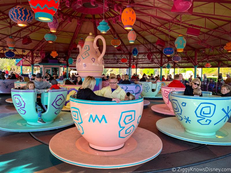 Mad Tea Party Disney World