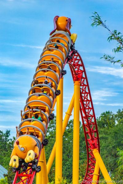 Slinky Dog Dash Disney World