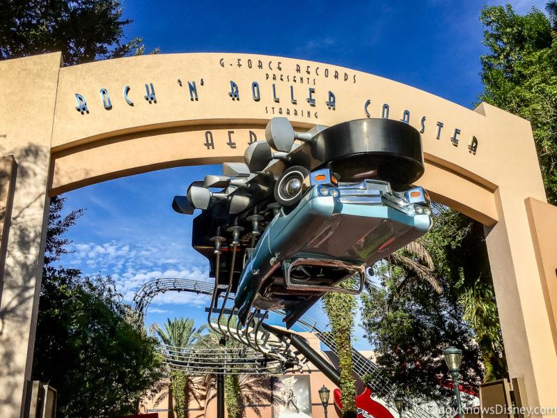 Fastest Roller Coaster at Disney World Rock 'n' Roller Coaster