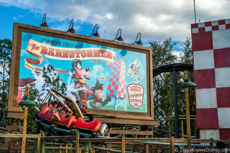 The Barnstormer Disney World