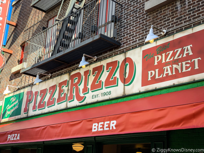 PizzeRizzo Hollywood Studios Restaurant