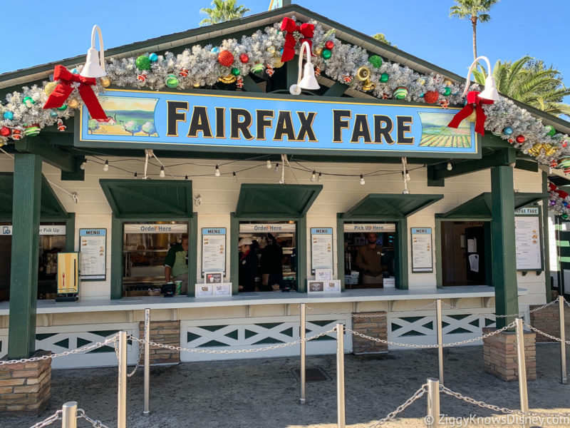 Fairfax Fare Hollywood Studios