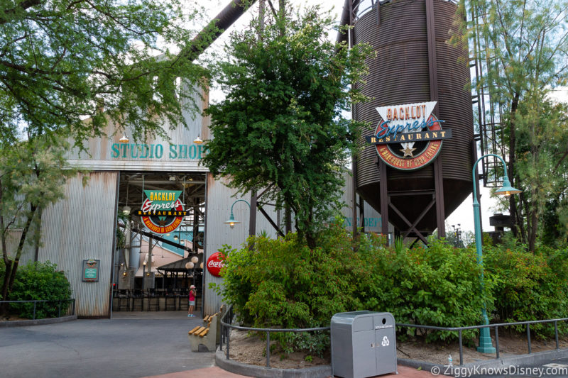 Backlot Express Restaurant Hollywood Studios
