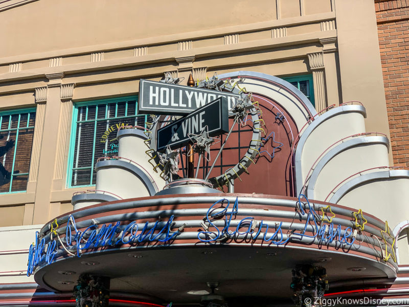 Hollywood & Vine Hollywood Studios Restaurant