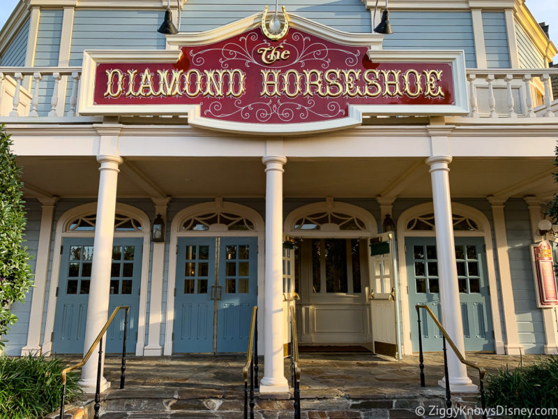 The Diamond Horseshoe Magic Kingdom