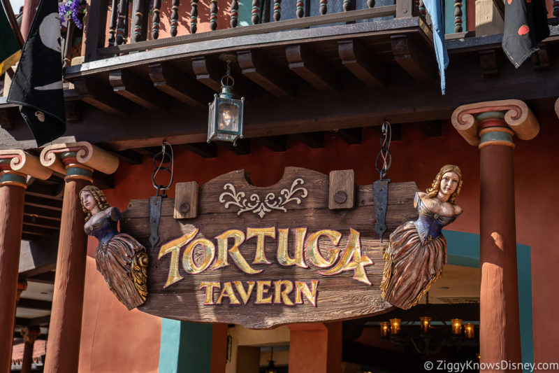 Tortuga Tavern Entrance Magic Kingdom