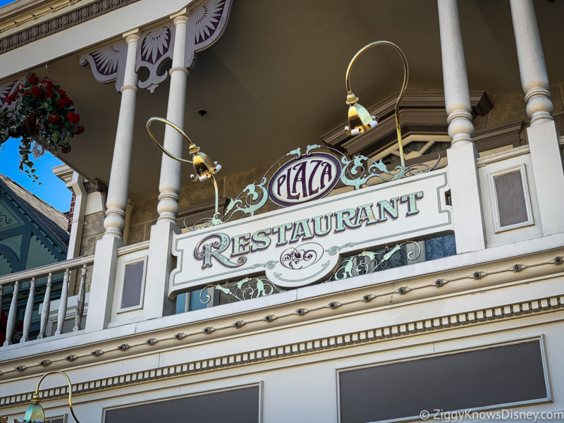 Plaza Restaurant Magic Kingdom