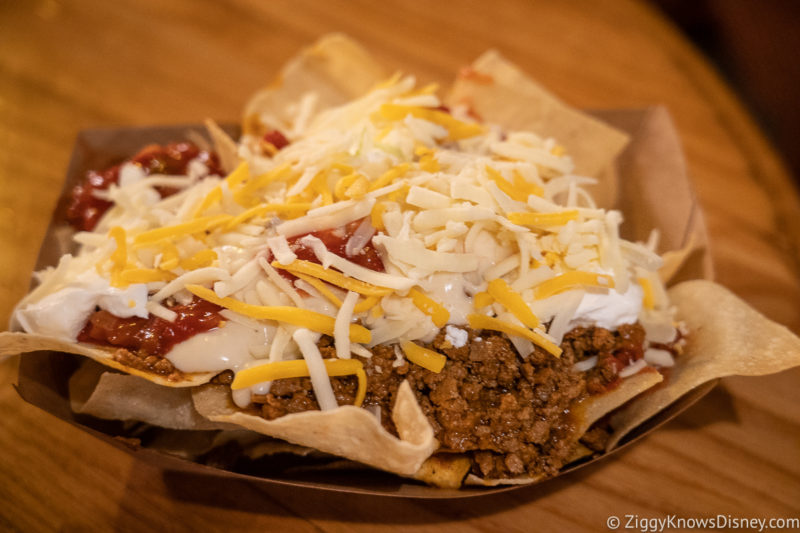 Pecos Bill Cafe Nachos Magic Kingdom