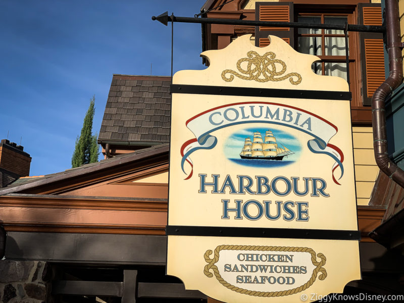 Columbia Harbour House Magic Kingdom