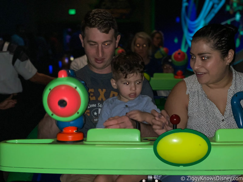 Disney World rides with kids