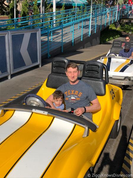 Disney World rides with little kids