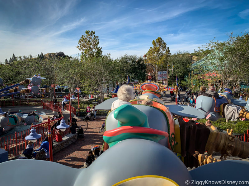Rides for Grandparents at Disney World
