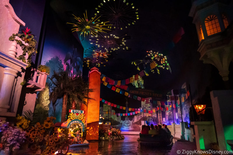 Rides for Kids at EPCOT Gran Fiesta Tour