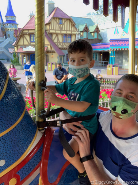 Disney World Rides for Toddlers Prince Charming Carrousel