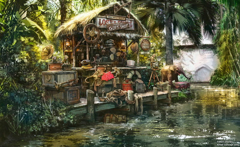 Trader Sam's Shop Jungle Cruise