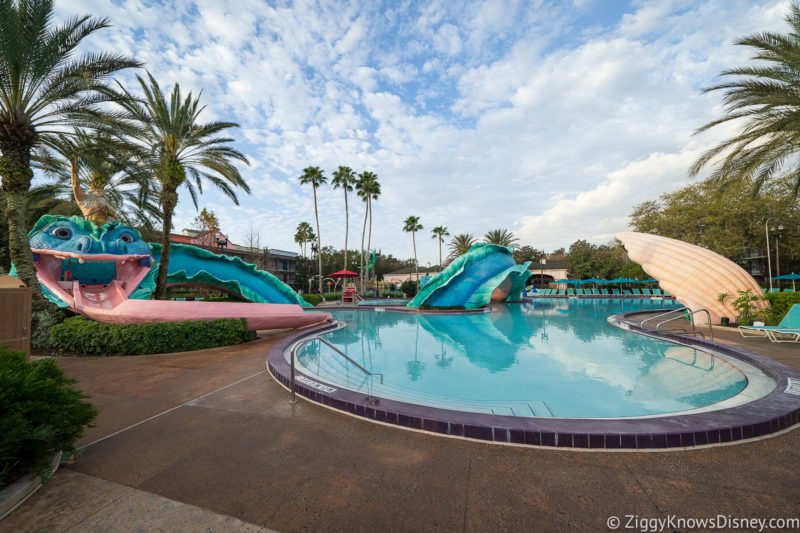 Port Orleans Pool Disney World in July