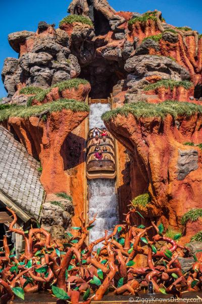 Splash Mountain Disney World in July