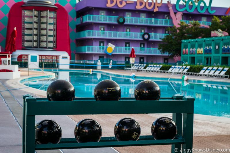 Swimming Pools at Disney World