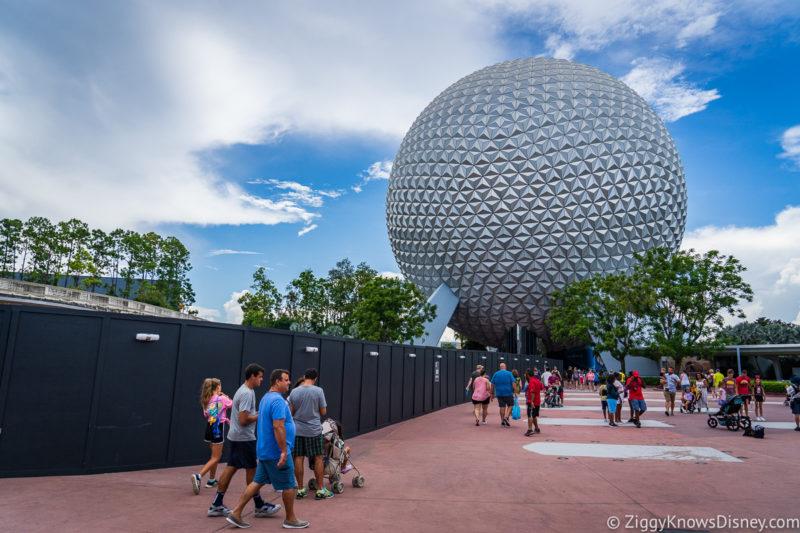 Refurbishments at Disney World in June