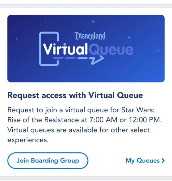 Disneyland Virtual Queue Disneyland Mobile App