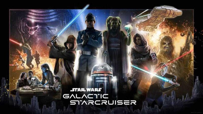 Star Wars: Galactic Starcruiser Hotel Poster