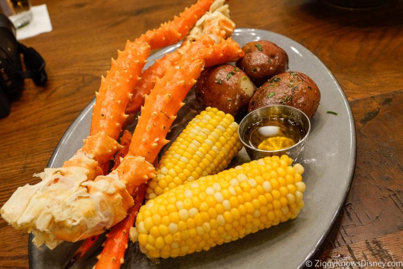 King Crab Legs Paddlefish Disney Springs