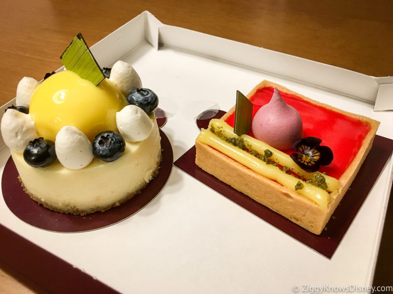 Pastries from Amorette's Patisserie