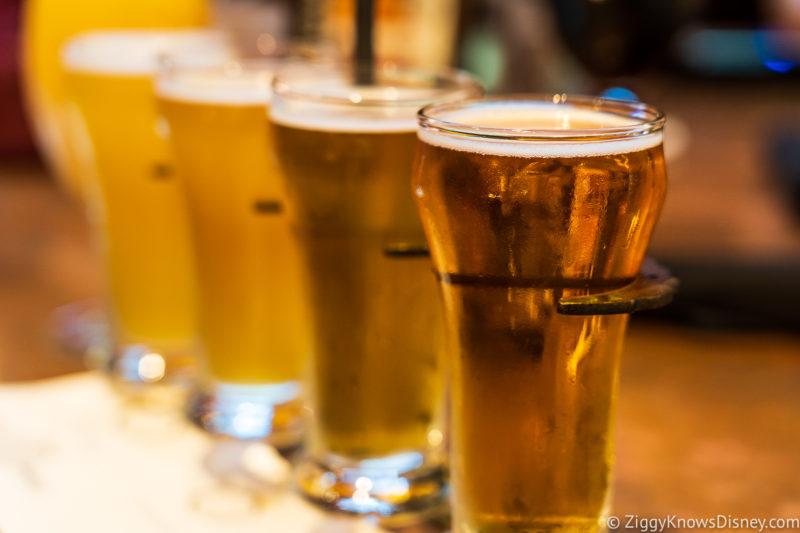Beers from City Works Disney Springs