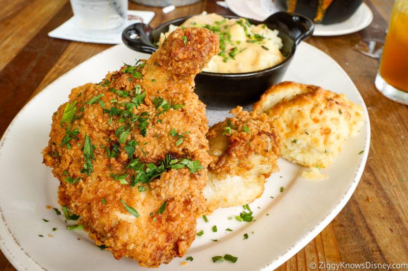 Best Disney Springs Brunch fried chicken from Homecomin