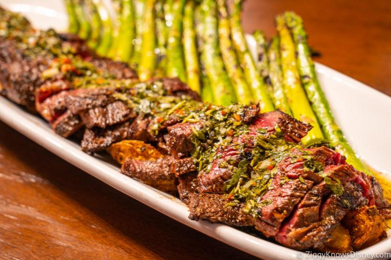 Top Disney Springs Restaurants steak from Wine Bar George